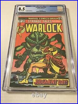 1975 Marvel Comics Strange Tales #180 CGC 8.5 1st Appearance of Gamora
