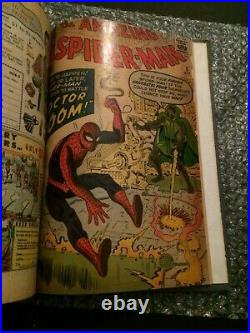 Bound Volume Strange Tales 110 1st Dr. Strange 112 FF 19 Amazing Spiderman 5