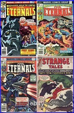 Eternals #1 1976 1st Ikaris Kirby VF/NM! Plus #3, 11 & Strange Tales #109 Sersi