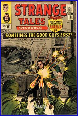Lot (2) Strange Tales 138 8.5 1st Eternity & Tales to Astonish 48 8.5 5th Wasp