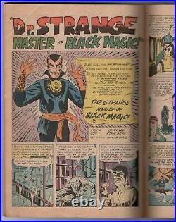 Marvel comic Strange Tales #110 with 1st appearance of Dr. Strange & Nightmare