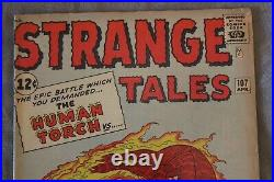 STRANGE TALES #107 1st modern appearance SUB-MARINER Mid-Higher Grade CGC it
