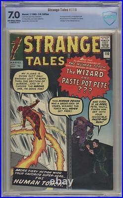 STRANGE TALES 110 CBCS 7.0 First Doctor Strange Pence Copy Marvel Comics