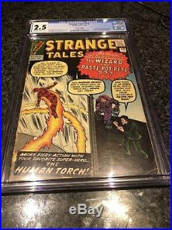 STRANGE TALES #110 CGC 2.5 Marvel comic 1st App Doctor Strange Nightmare