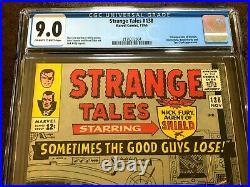 STRANGE TALES #138, CGC 9.0 (VF/NM), First Eternity, New CGC Case