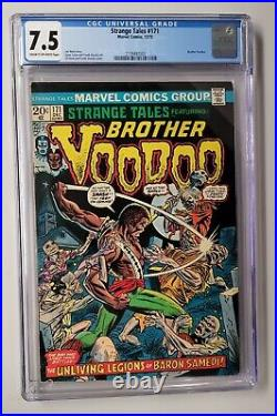 STRANGE TALES #169 173 All CGC Graded 1ST APPEARANCE OF BROTHER VOODOO
