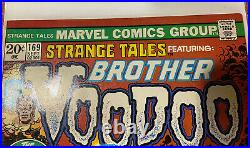STRANGE TALES #169 (1973) 1st BROTHER VOODOO VF+ SOLID COPY! Free Shipping