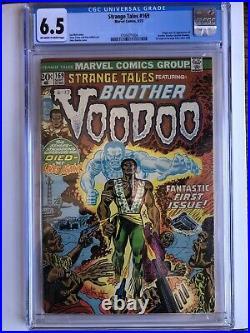 STRANGE TALES #169 CGC 6.5 1ST Appearance of BROTHER VOODOO Dr. Strange 2