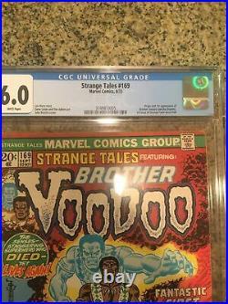 STRANGE TALES #169 ORIGIN 1st BROTHER VOODOO 1973 Doctor Strange MOVIE-2 CGC 6.0