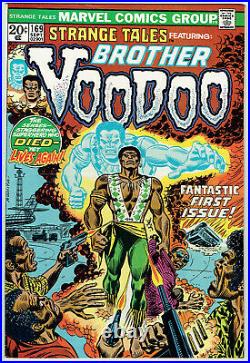 STRANGE TALES 169 VF/8.0 Beautiful copy of 1st appearance of Brother Voodoo