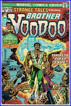 STRANGE TALES 169 VG/4.0 1st appearance of Brother Voodoo