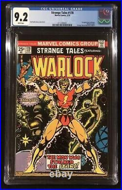 STRANGE TALES #178 CGC 9.2 WHITE Pgs 1st Appearance of MAGUS (Lot 110 180 A)