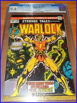 STRANGE TALES #178 CGC 9.4 NM (1st Appearance of Magus White Pages)