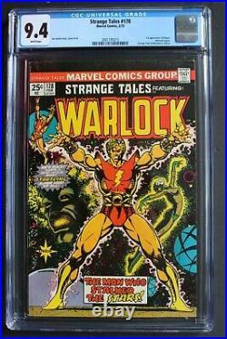 STRANGE TALES #178 WARLOCK Begins 1st MAGUS Jim Starlin THANOS Movie CGC NM 9.4