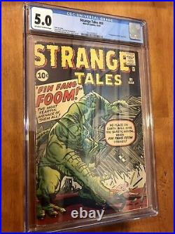 STRANGE TALES #89 1st FIN FANG FOOM (1961) OWithW Pages. VERY RARE