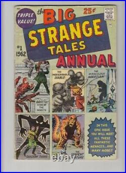 STRANGE TALES ANNUAL #1 VG/FN 1st MARVEL ANNUAL