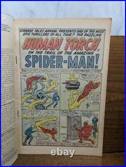 STRANGE TALES ANNUAL #2 (Marvel 1963) Lee Kirby Ditko 1st Spider-Man x-over KEY