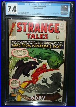 Strange Tales #109 1st App of Circe Fantastic Four CGC Grade 7.0 1963