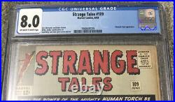Strange Tales 109 Cgc 8.0 First Circe Sersi Eternals Mcu Marvel