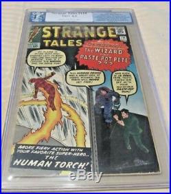 Strange Tales #110 (1st Appearance Of Dr. Strange) 1963 Graded 4.5 Huge Mega Key