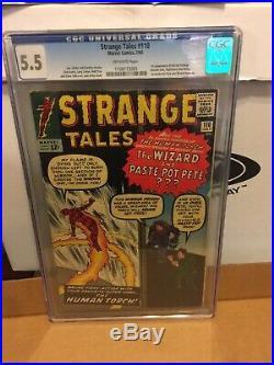 Strange Tales #110 1st Dr Strange CGC 5.5 Dr. Strange, Master of Black Magic