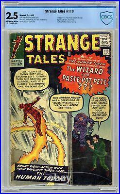 Strange Tales #110 CBCS 2.5 1963 1st app. Doctor Strange, Nightmare