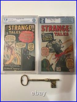 Strange Tales #110 CBCS (like GCG) 7.0 1st Doctor Strange & Strange Tales #101