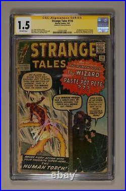 Strange Tales #110 CGC 1.5 SS Stan Lee 1316571004 1st app. Doctor Strange