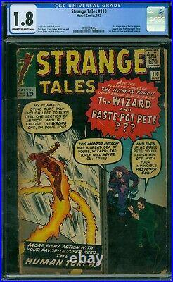 Strange Tales 110 CGC 1.8 1st Dr Strange