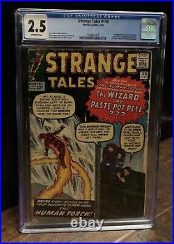 Strange Tales #110 CGC 2.5 1st Doctor Strange 1963 Movie Avengers 1288857001