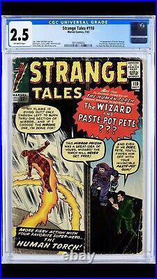 Strange Tales #110 CGC 2.5 1st Doctor Strange 3815906002 7/63