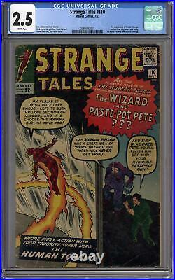 Strange Tales #110 CGC 2.5 (W) 1st Appearance of Doctor Strange