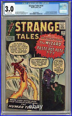 Strange Tales #110 CGC 3.0 1963 3830920001 1st app. Doctor Strange, Nightmare