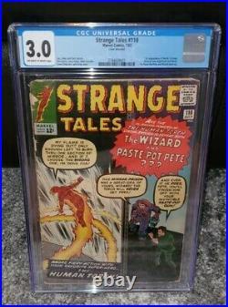 Strange Tales #110 CGC 3.0 1st Appearance of Doctor Strange 1963 Movie
