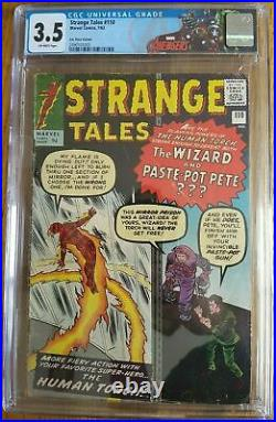 Strange Tales #110 CGC 3.5 1963 1st Doctor Strange! Rare UK Edition! L5 245 cm