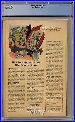 Strange Tales #110 CGC 4.0 1963 2070404006 1st app. Doctor Strange, Nightmare