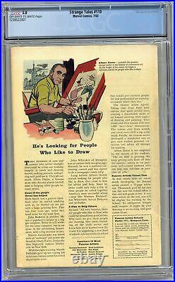 Strange Tales #110 CGC 5.0 1963 1238522001 1st app. Doctor Strange, Nightmare