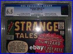 Strange Tales #110 CGC 6.5 OW to W NEVER PRESSED 1st Doctor Strange