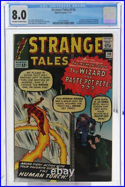 Strange Tales # 110 CGC 8.0 1st app of Doctor Strange, Ancient One and Wong