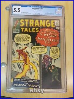 Strange Tales #110 CGC FN- 5.5 OW 1st Appearance of Doctor Strange! Rare