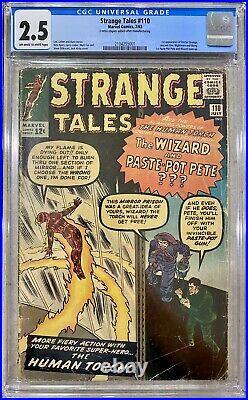 Strange Tales #110 Cgc 2.5 1st Appearance Doctor Strange 1963 Ancient One Key