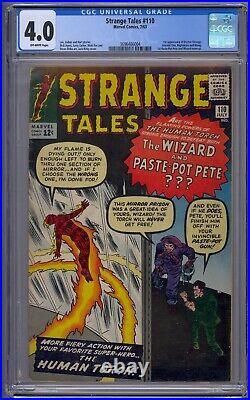 Strange Tales #110 Cgc 4.0 1st Doctor Strange/ancient One/nightmare/wong