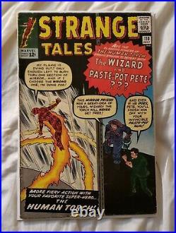 Strange Tales #110 FN- 5.5 1st Appearance of Doctor Strange! Raw Unrestored
