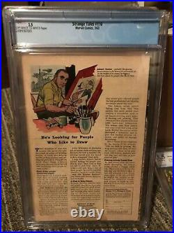 Strange Tales 110 First Appearance of Dr. Strange 2.5 CGC