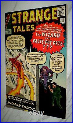 Strange Tales #110 NM 9.4 OW pages 1963 Marvel 1st appearance of Doctor Strange