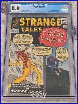 Strange Tales #110 Vol 1 CGC 8.0 Beautiful High Grade 1st App of Doctor Strange
