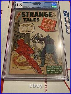 Strange Tales #111 CGC 1.5 (OW) 2nd Appearance of Doctor Strange 1st Mordo