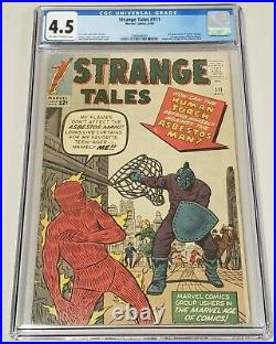 Strange Tales #111 CGC 4.5 OWithW 2nd App DOCTOR STRANGE 1st Baron Mordo KEY