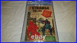 Strange Tales 111 CGC 5.0 VG/F Silver Age 1st Appearance of Baron Mordo