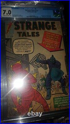Strange Tales #111 CGC 7.0 1st Baron Mordo (2nd Dr Strange) Silver Age Marvel